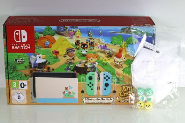 Nintendo Switch Animal Crossing New Horizons Special Edition Console + With Game