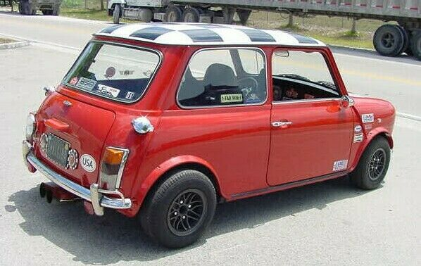 CLASSIC AUSTIN MINI ROVER MINI ROOF SQUARES BLACK SET $75.00