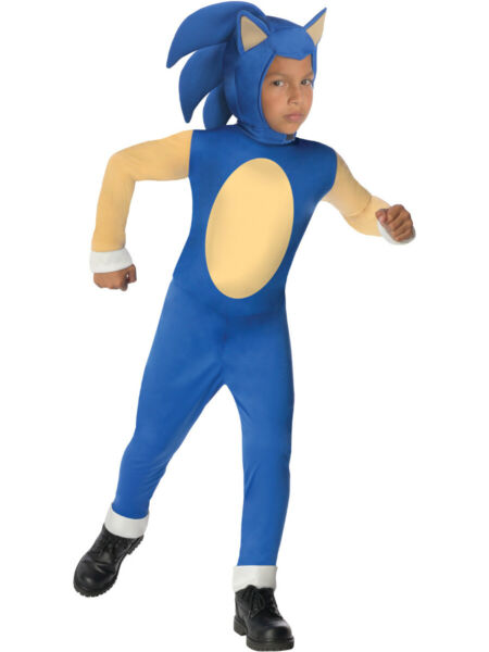 Childs Sonic The Hedgehog Generations Boy Costume Large 12 14 $26.99