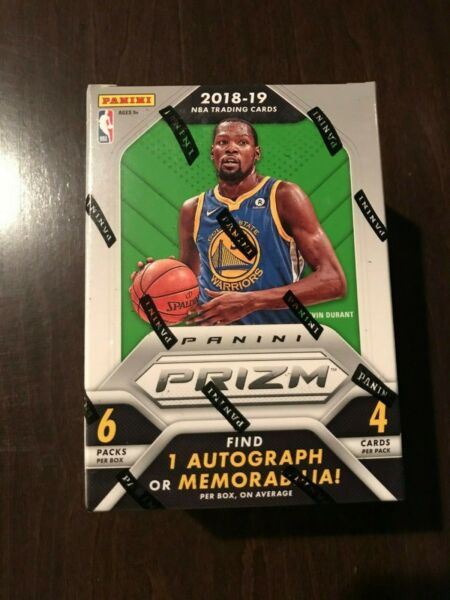 201819 Panini Prizm Basketball Factory Sealed Blaster Box-AUTOMEM
