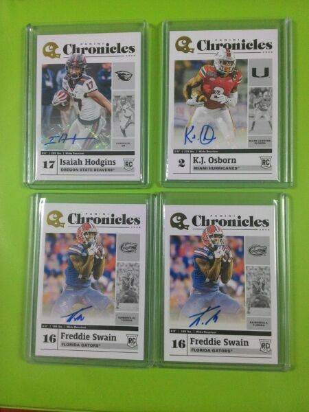 50 NFL 2020 CHRONICLES CONTENDERS DRAFT auto jersey RC variation LISTING OTHERS