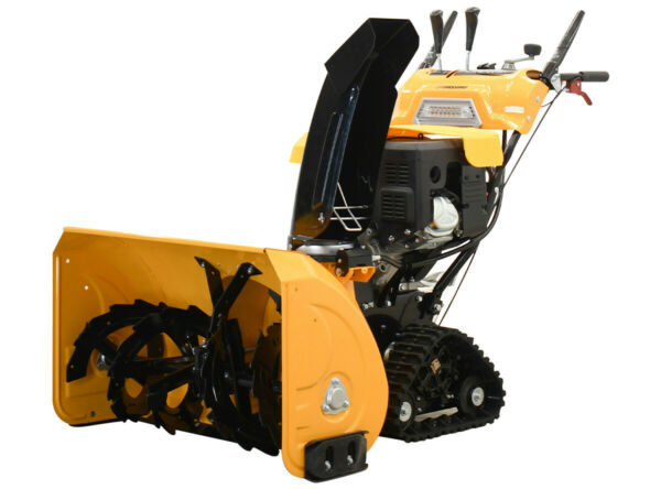 34quot; 375cc Gas Snow Blower Thrower 2 Stage Shovel Walk Behind Heavy Duty