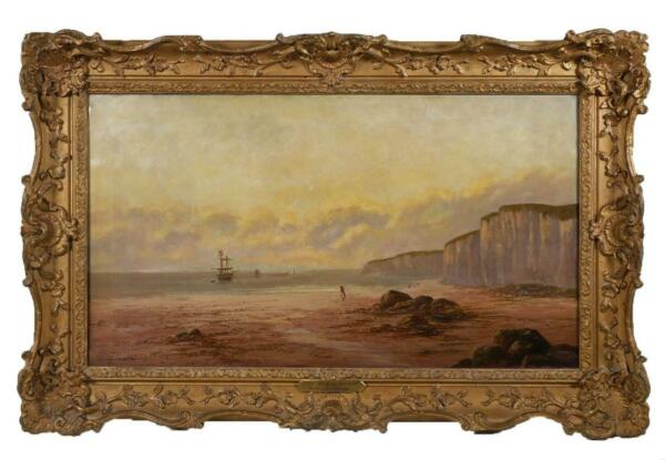 Sidney Yates Johnson (1890-1926) - Large  Antique Signed Oil Painting LISTED