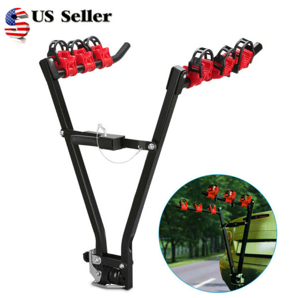 Bike Stand Car SUV Vehicle Trunk Mount Bicycle Cycling SteeStand Storage Carrier $38.99
