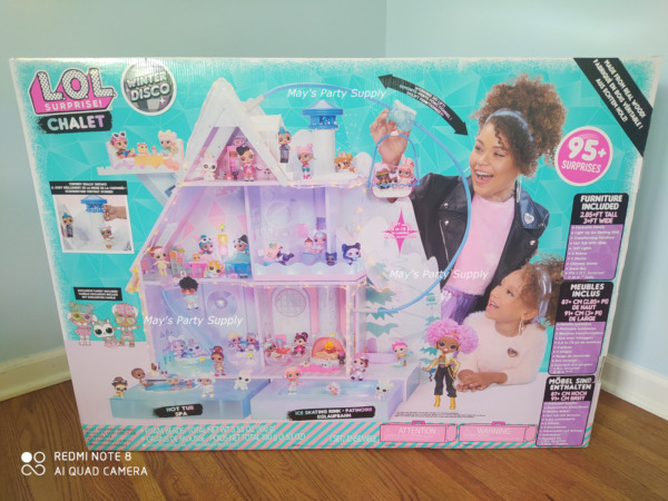 LOL Surprise Winter Disco Chalet Doll House With 95+ Surprise (Brand New In Box)