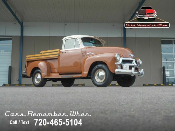 1955 Chevrolet Other Pickups 1st Series Corner Windows  5-Speed Manual  Wood 235 cubic inch I6 5-Speed Manual Brown