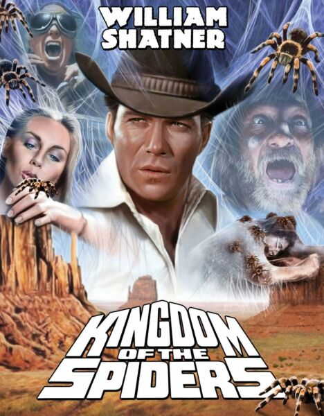 KINGDOM OF THE SPIDERS BLU RAY NEW CODE RED WITH SLIPCOVER $27.99