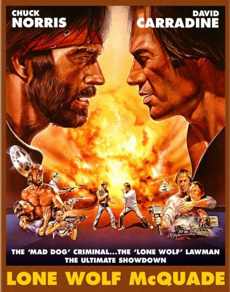 LONE WOLF MCQUADE BLU RAY NEW SCORPION WITH SLIPCOVER $34.99