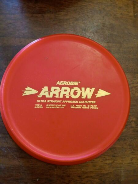 Pre-Owned Aerobie Arrow Putt & Approach Disc Inked Weighed 168 grams $15.00