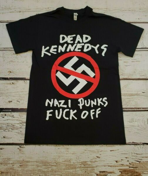 New DEAD KENNEDYS Nazi Punks F*** Off BAND T SHIRT