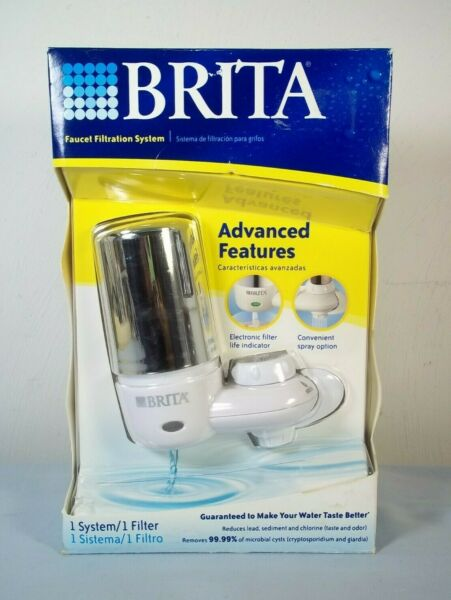 Brita On Tap Faucet Filtration System FF 100 New in Box