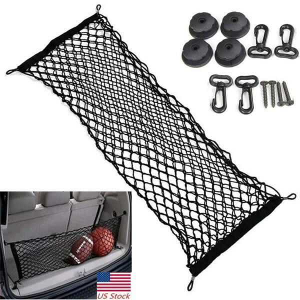 Universal Car Accessories Trunk Cargo Net Envelope Style Car Interior Parts US
