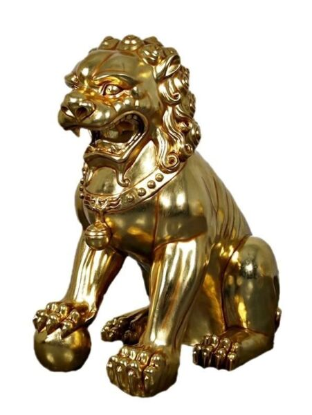 Foo Dog Male Chinese Lion Over Sized Statue $1321.35