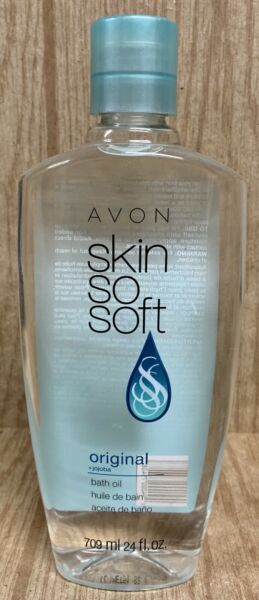 Large 25 oz Avon SSS SKIN SO SOFT Original Bath Oil with Jojoba Oil