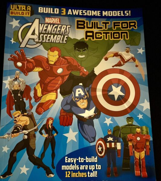 Marvel Avengers Assemble Built for Action BUILD OWN MODELS