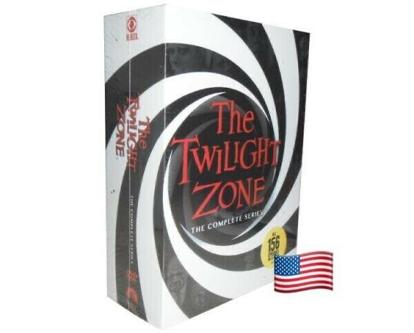 The Twilight Zone: The Complete Series New DVD Boxed Set SAME DAY SHIPPING $39.98