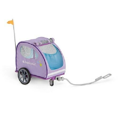 American Girl Doll Pet Trailer Bike Attachment or Hand Held NEW $39.99