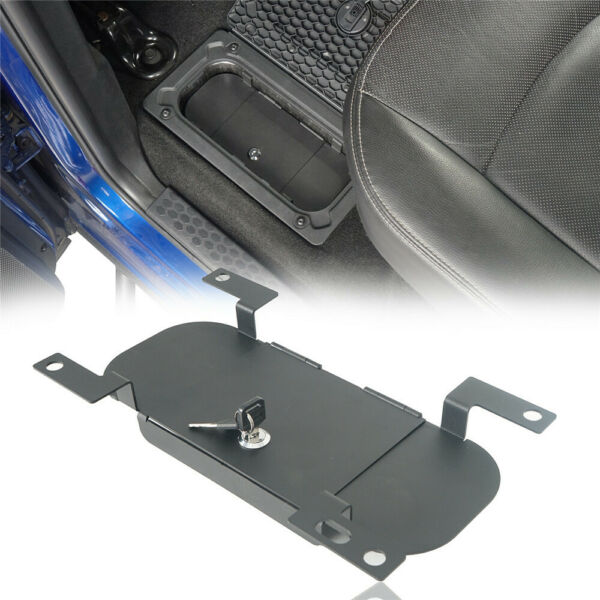 Hooke Road Rear In Floor Lockable Storage Security Lid fit Dodge Ram 1500 09 18 $47.99