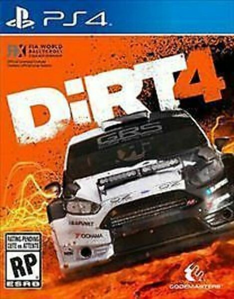 Dirt 4 USED SEALED Sony PlayStation 4 2017 PS4 $18.95