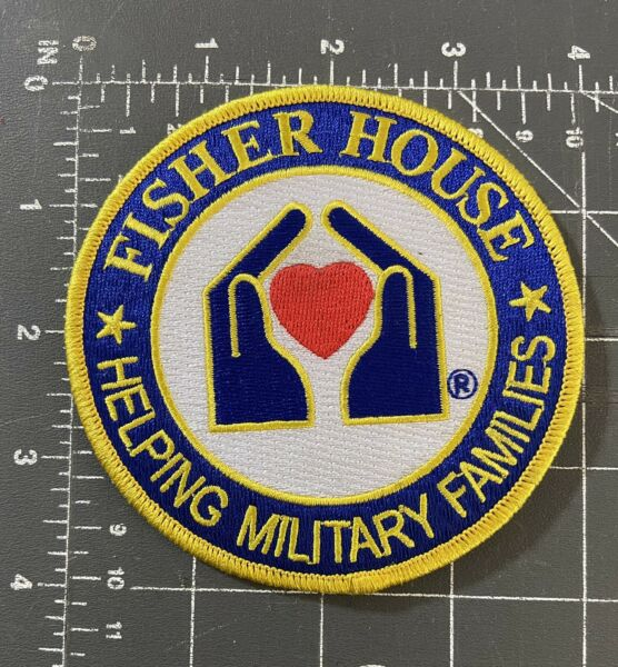 Fisher House Logo Patch Helping Military Families Foundation Veterans VA Homes $6.99