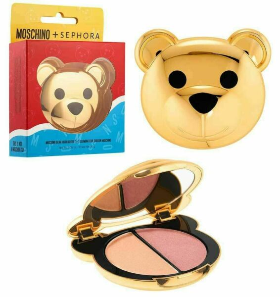 MOSCHINO SEPHORA Bear HIGHLIGHTER Palette Limited Edition NEW Boxed $45.99