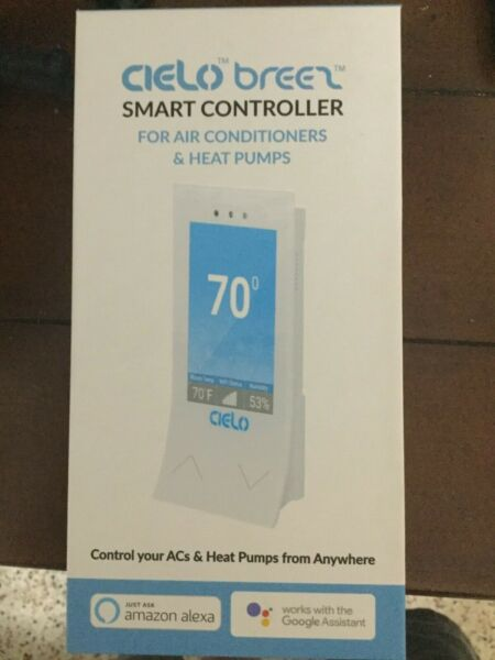 CIELO BREEZ SMART CONTROLLER FOR AC amp; HEAT PUMPS BE101WA $69.95