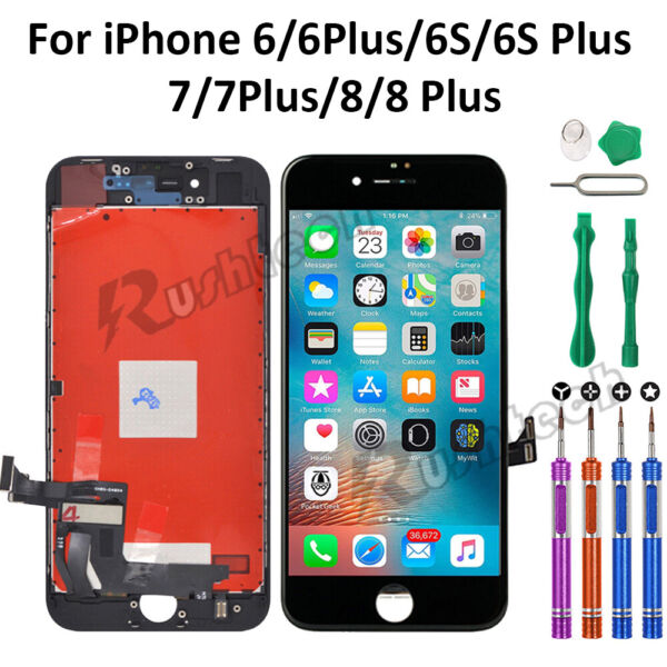 For iPhone 8 7 6 6S Plus LCD Touch Display Screen Digitizer Replacement Tools