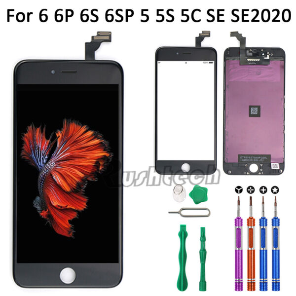 iPhone 6 6S Plus LCD Touch Display Screen Digitizer Replacement9 In 1 Tools