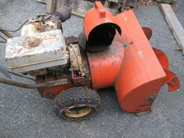 Vintage Ariens Snowblower Motor Works Parts Repair Pickup Connecticut