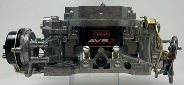 Edelbrock Remanufactured AVS2 Carburetor 650 CFM Electric Choke #1906 $269.95
