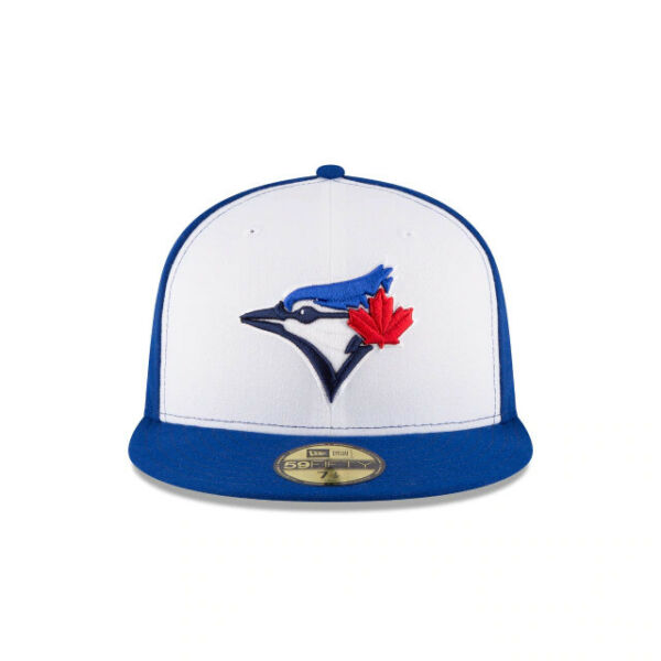Toronto Blue Jays MLB New Era Authentic On Field 59FIFTY Fitted Hat Royal White
