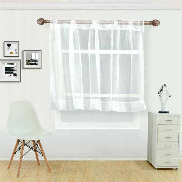 Cover Dust Window Coffee Curtain White Decorative Accessories Home Decoration LB