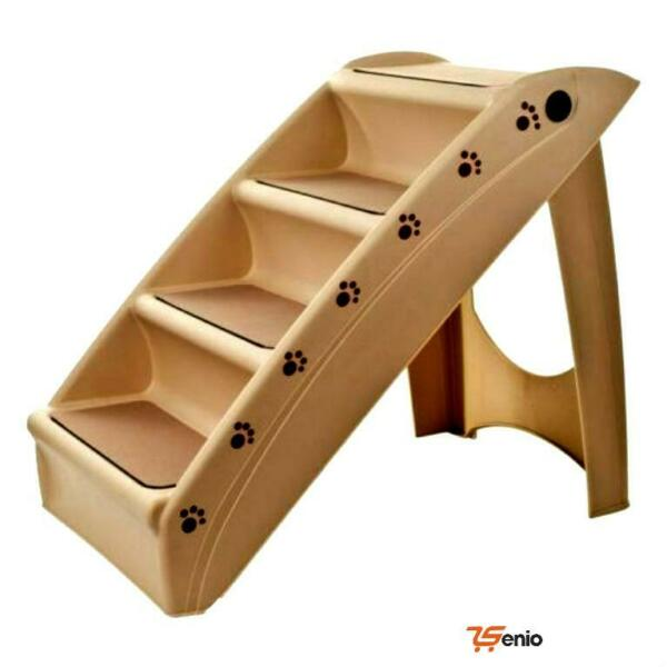 Foldable Pet Stairs Dogs Cat 4 Steps 19quot; H 15quot; W Rsenio