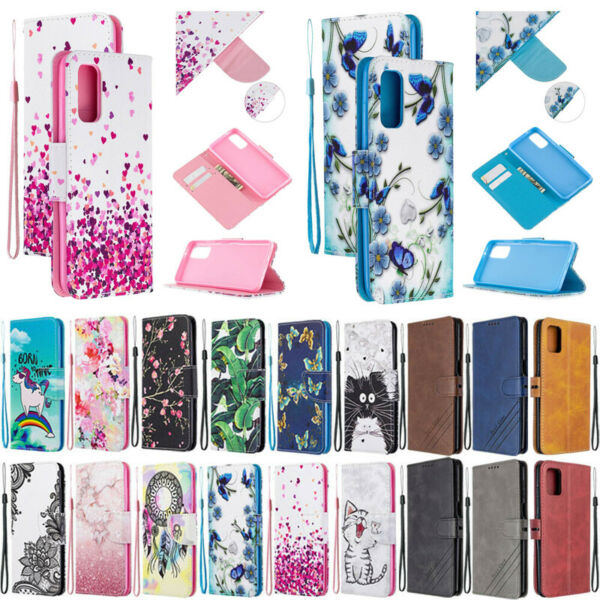 For Samsung A10S A20S A21S A51 A71 A20E Flip Magnetic Leather Wallet Case Cover $4.98