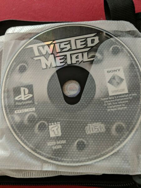 Twisted Metal PS1 disc only
