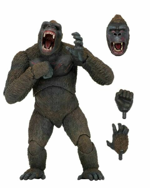 King Kong 7quot; Scale Action Figure King Kong NECA