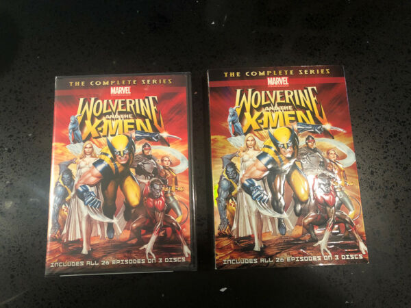 Wolverine and the X Men: The Complete Series DVD 2010 3 Disc Set NEW