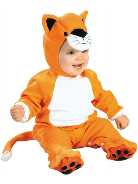Zoo Animal Critter Charlie Cheetah Baby Costume Infant 6 12 Months