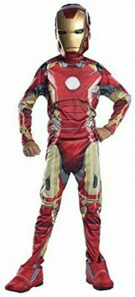 Avengers Ironman Child Costume Medium Missing Mask