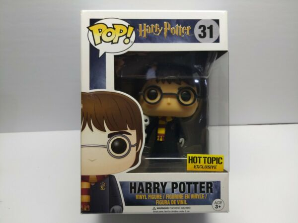 Funko Pop Harry Potter #31 Harry With Hedwig Hot Topic Exclusive FAST