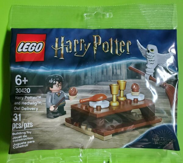 LEGO 30420 Harry Potter and Hedwig Owl Delivery Polybag 30420 NEW SEALED Rare