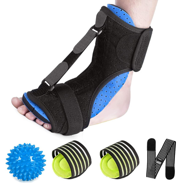 Plantar Fasciitis Splint Night Foot Drop Orthotic BraceAdjustable Dorsal Night