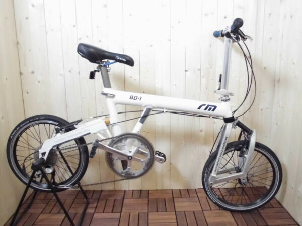 Riese amp; Müller Birdy BD 1 Used folding bike White color $1500.00