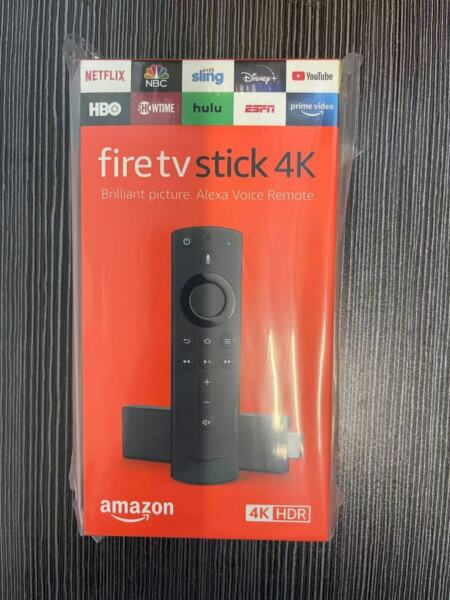 Amazon Fire TV Stick 4K Streaming Media Player with Alexa