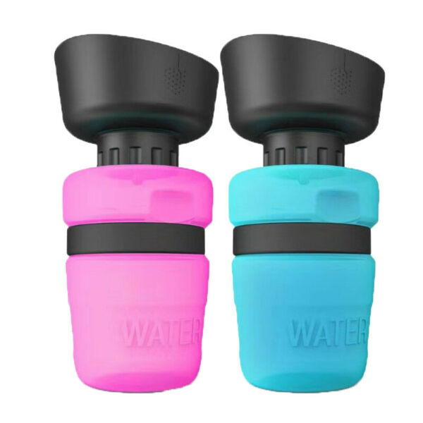 Collapsible Pet Water Bottle for Dogs Foldable Dog Travel Water Bottle 18 Oz $14.90