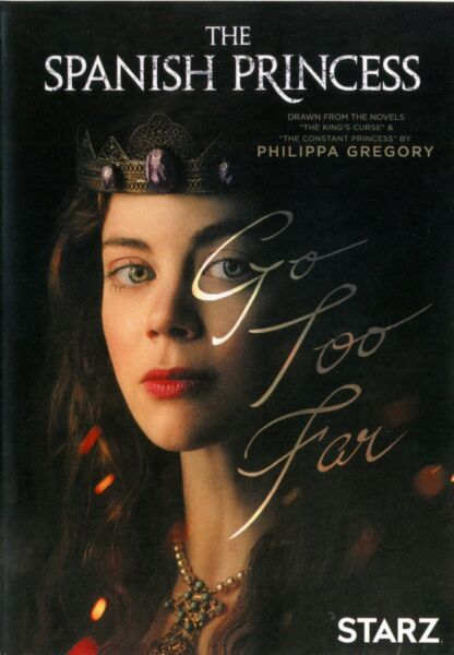 The Spanish Princess DVD 2019 2 Disc Set New Super Fast Shipping