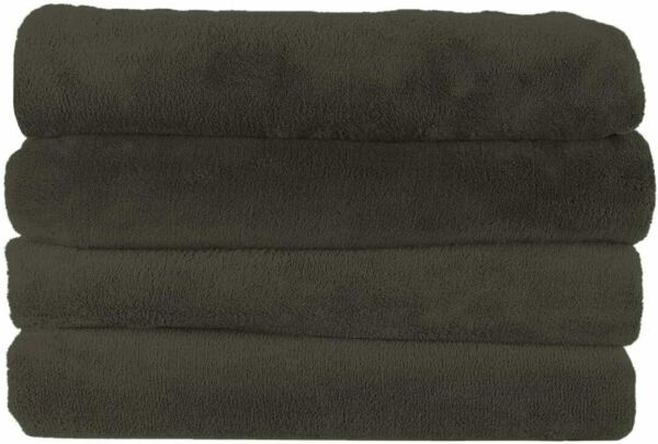 Sunbeam Microplush Throw Blanket 3 Heat Settings Olive Green $34.95