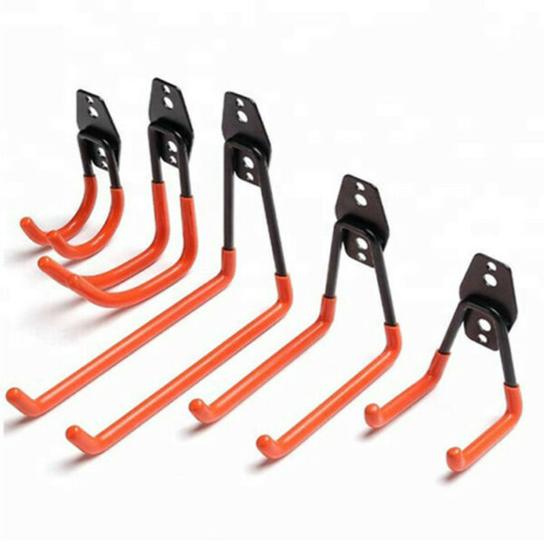 Wall Mount Garage Bike Hanger Heavy Duty Metal Hook Garden Hooks Bathroom Hooks $11.19