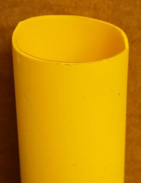 1 2quot; 3:1 Adhesive Lined Heat Shrink Tubing 4ft piece Yellow $8.11