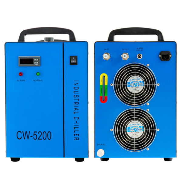 New Industrial Water Chiller CW 5200 for CNC Laser Engraver Engraving Machines $372.59